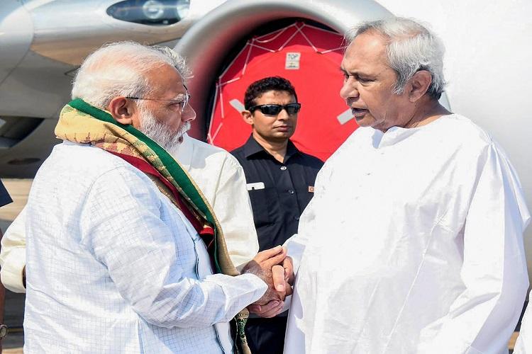 Prime Minister Narendra Modi and Odisha Chief Minister...- India TV Hindi