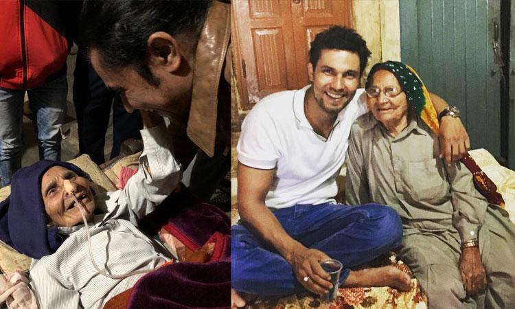 रणदीप हुड्डा की दादी...- India TV Hindi