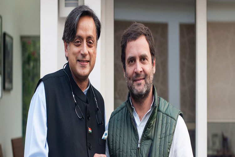 Rahul best person to lead party, too premature to write Congress' obituary: Shashi Tharoor- India TV Hindi