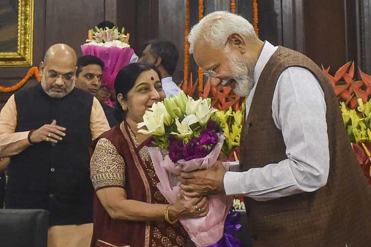 sushma swaraj and pm modi- India TV Hindi