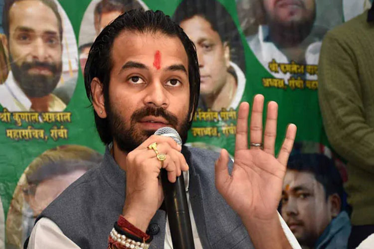 Those who don't like Tejashwi's leadership can leave, be it mahagathbandhan or RJD says Tej Pratap Y- India TV Hindi