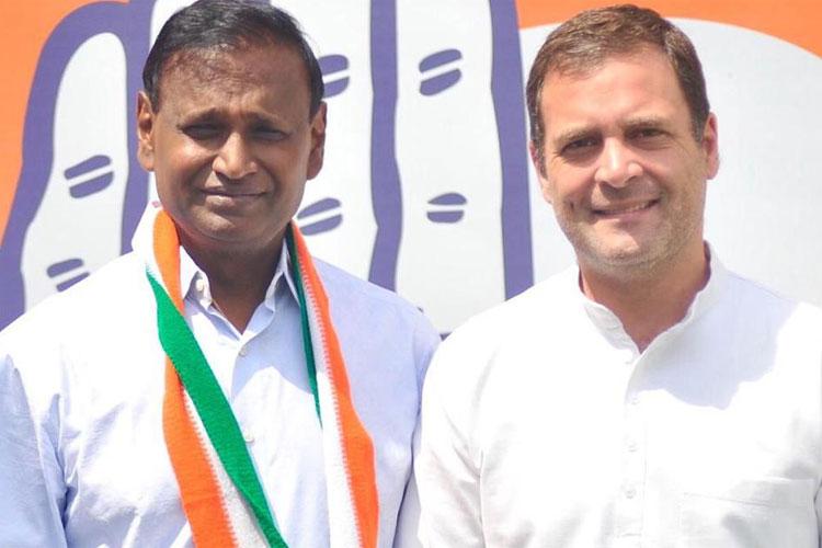 Udit Raj with Rahul Gandhi | Twitter- India TV Hindi