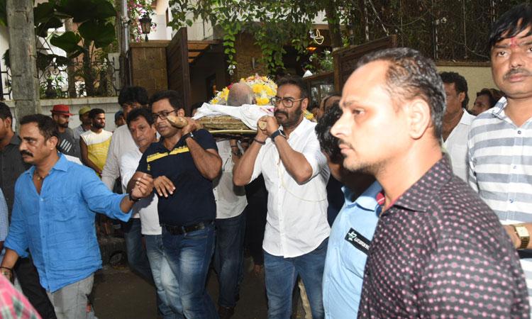 Veeru Devgan last rites- India TV Hindi