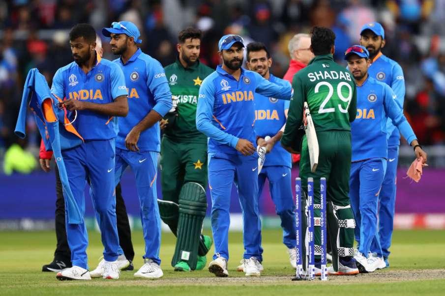 विश्व कप 2019: भारत ने वर्ल्ड कप में पाकिस्तान को सातवीं बार रौंदा, रोहित शर्मा ने जमाया तूफानी शतक- India TV Hindi