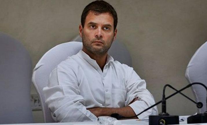 Rahul Gandhi Reaction on Vikas Chaudhary Murder- India TV Hindi