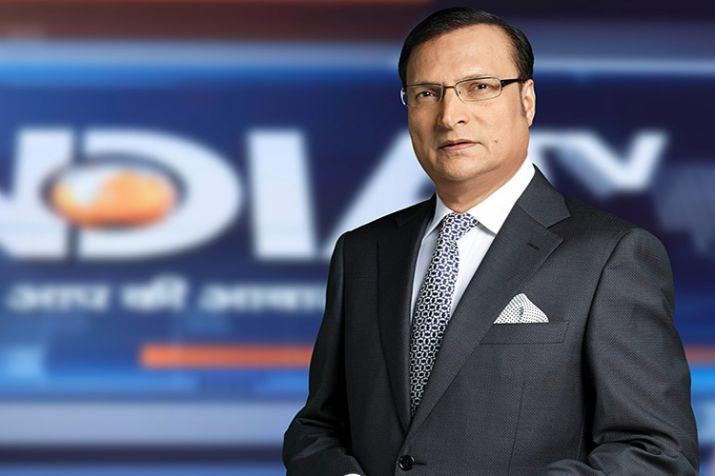 India TV Chairman and Editor-in-Chief Rajat Sharma   India TV- India TV Hindi