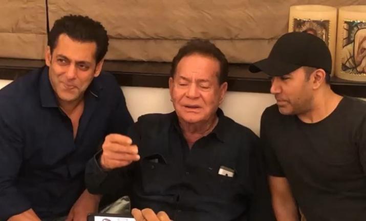Salman khan and salim khan- India TV Hindi