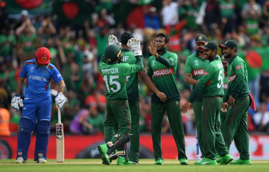 बांग्लादेश बनाम अफगानिस्तान, विश्व कप 2019 मैच 31 Highlights: - India TV Hindi