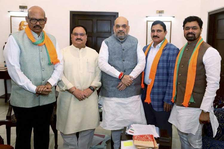 TDP Rajya Sabha MPs Y Sujana Chowdary, TG Venkatesh and...- India TV Hindi