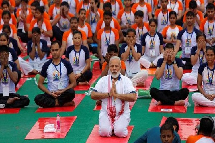 yoga day- India TV Hindi