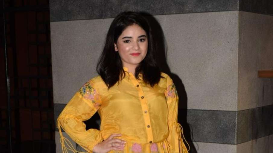 SP MP ST Hassan said on Zaira Wasim that skin show is not permitted in Islam - India TV Hindi