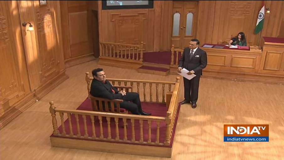 Aap Ki Adalat, Govinda, Rajat sharma- India TV Hindi