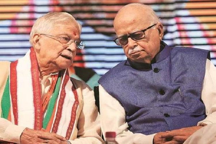 Murli manohar Joshi and Lal Krishna Advani- India TV Hindi