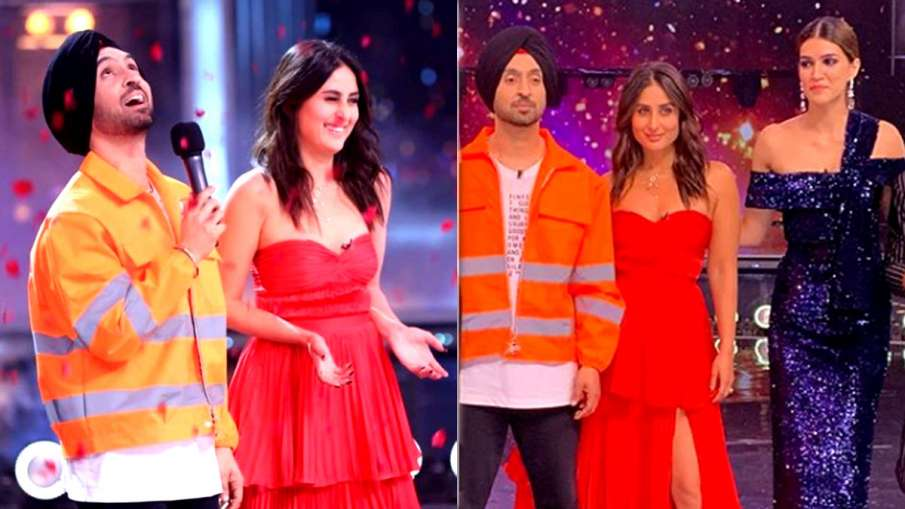 Diljit Dosanjh and Kareena Kapoor Khan- India TV Hindi