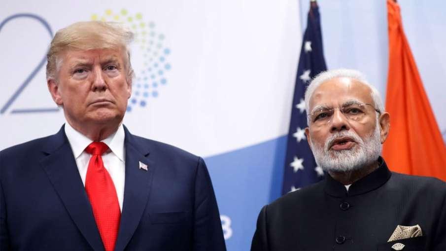 India rejects US president Donald Trump's comment on Modi seeking mediation on Kashmir | AP File Pho- India TV Hindi
