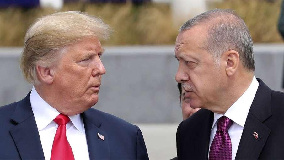 Donald Trump and Recep Tayyip Erdogan | AP File Photo- India TV Hindi