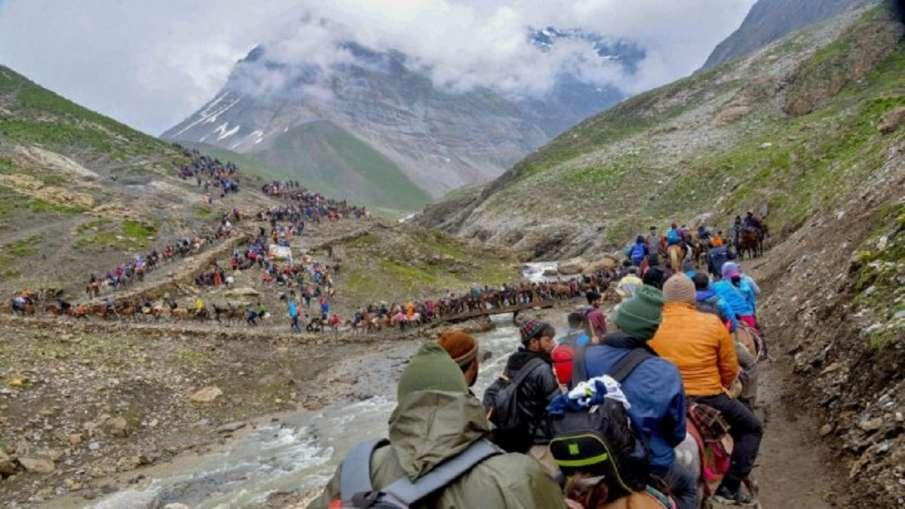 Amarnath Yatra suspended due heavy rain prediction- India TV Hindi