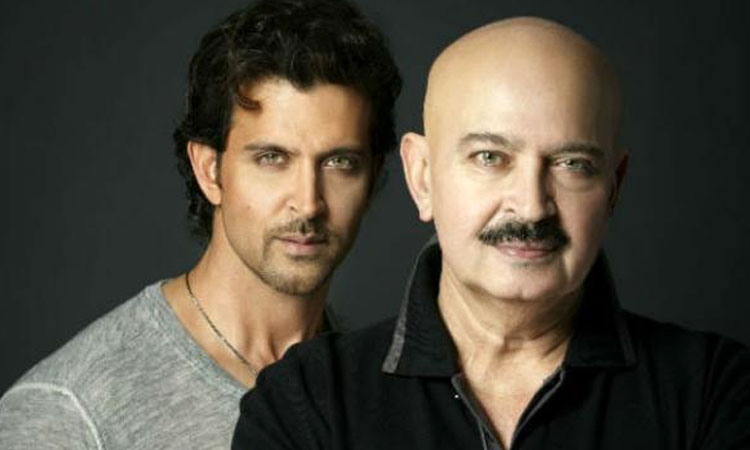 Hrithik Roshan with Rakesh Roshan- India TV Hindi