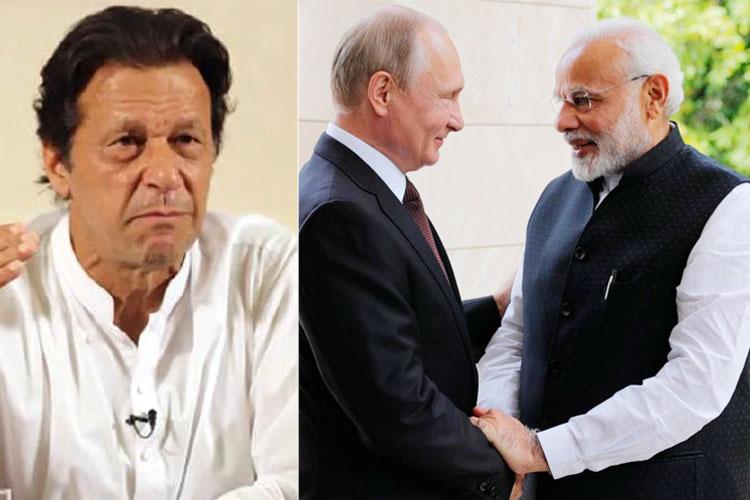 Imran Khan, Vladimir Putin and Narendra Modi | AP File- India TV Hindi