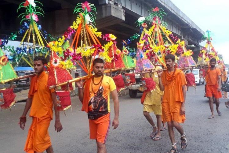 kanwar yatra- India TV Hindi