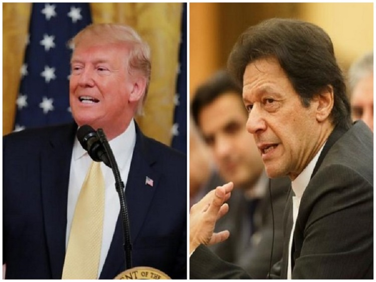 Donald Trump Imran Khan Meeting- India TV Hindi