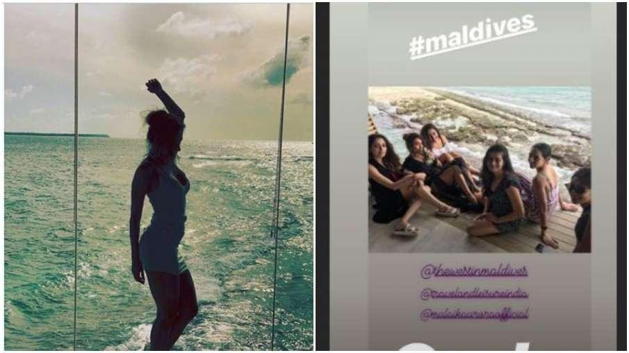 Malaika arora maldives vacation- India TV Hindi