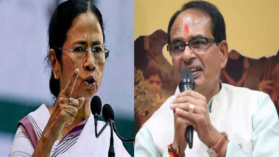 Mamata Banerjee and Shivraj Singh Chouhan - India TV Hindi
