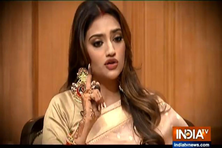 Nusrat Jahan in Aap Ki Adalat- India TV Hindi