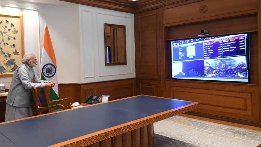PM Modi congratulates ISRO on successful launch of Chandrayaan 2- India TV Hindi