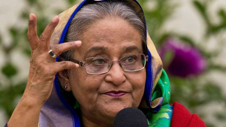 Bangladesh PM Sheikh Hasina disapproves immediate sedition case against Hindu woman | AP- India TV Hindi