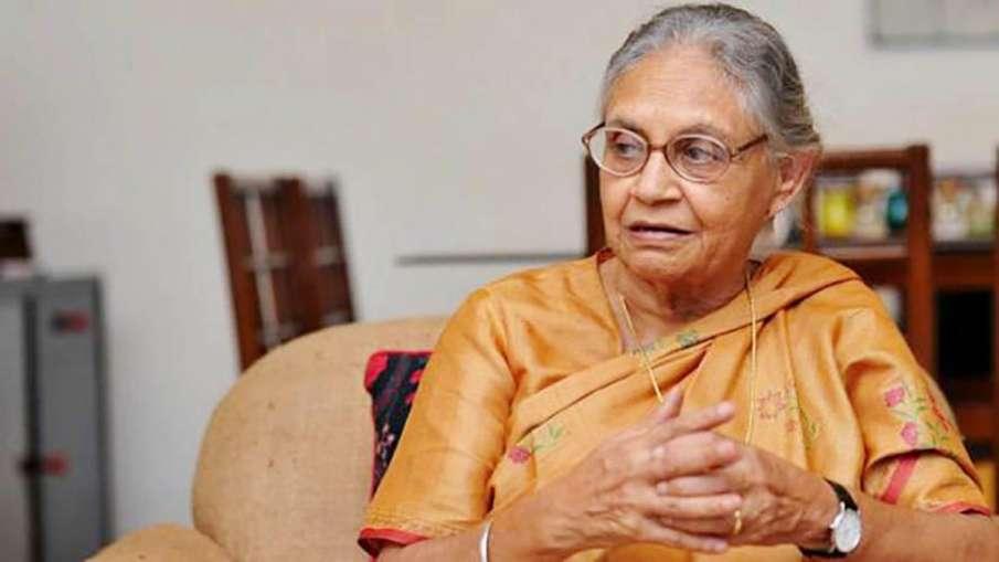 DPCC Chief Sheila Dikshit allocates responsibilities to 3 working presidents - India TV Hindi