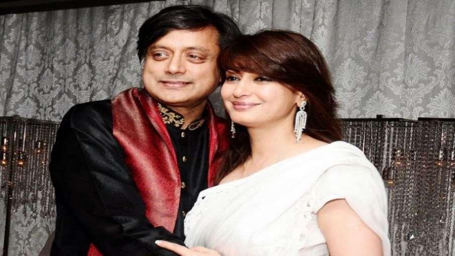 Sashi Tharoor and Sunanda Pushkar- India TV Hindi