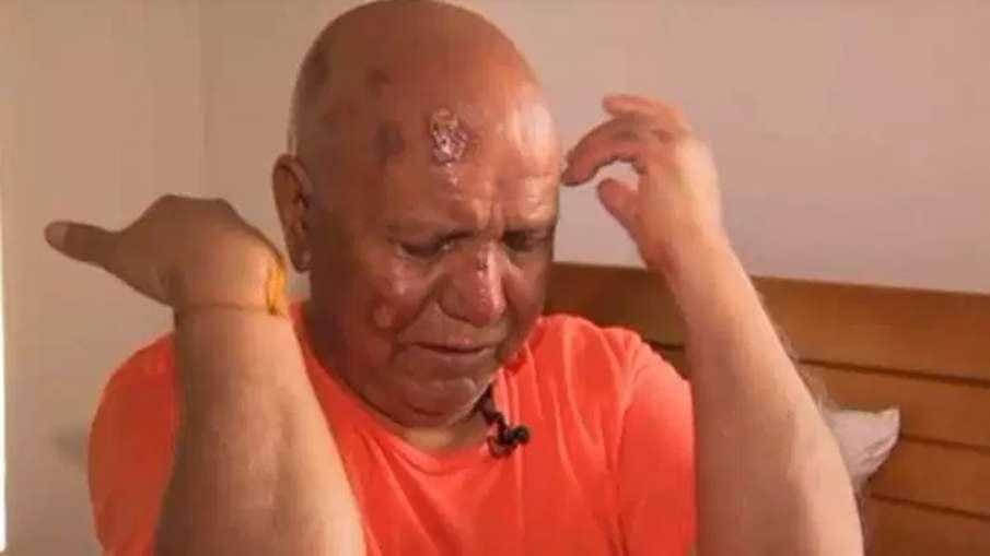 Hindu priest Harish Chander Puri attacked near temple in US | Videograb/PIX 11 news- India TV Hindi