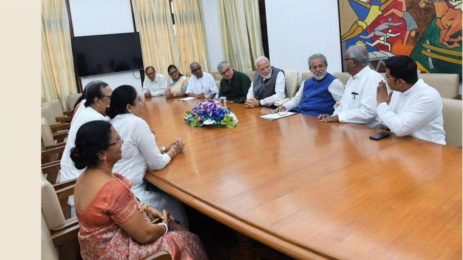TMC MPs meet PM Modi- India TV Hindi