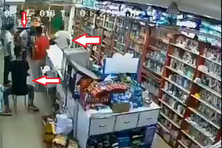 Robbery in medical store- India TV Hindi