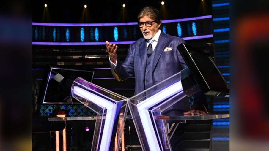 'कौन बनेगा करोड़पति' में अमिताभ बच्चन- India TV Hindi