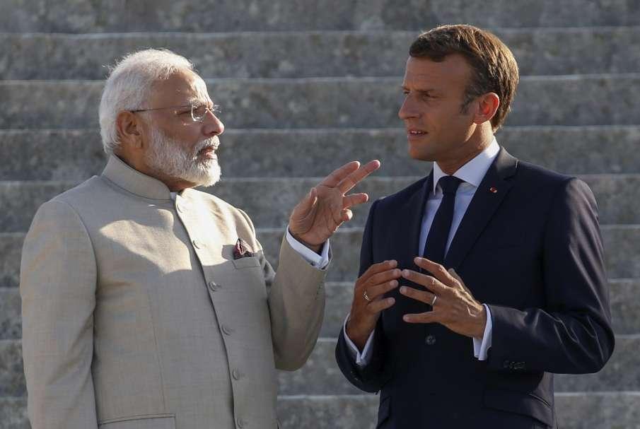 French President Emmanuel Macron and Prime...- India TV Hindi