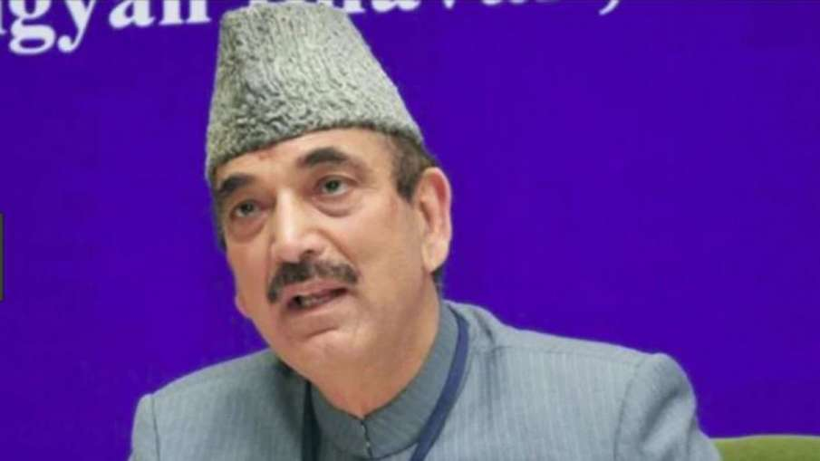 Congress Leader Ghulam Nabi Azad Stopped at Jammu...- India TV Hindi