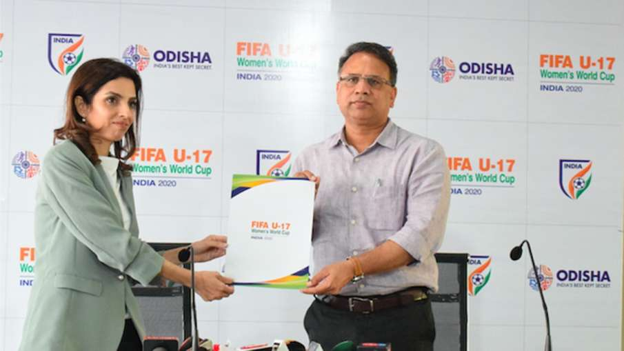 Bhubaneshwar becomes the first venue to get the official clearance to host FIFA U-17 Women's World C- India TV Hindi