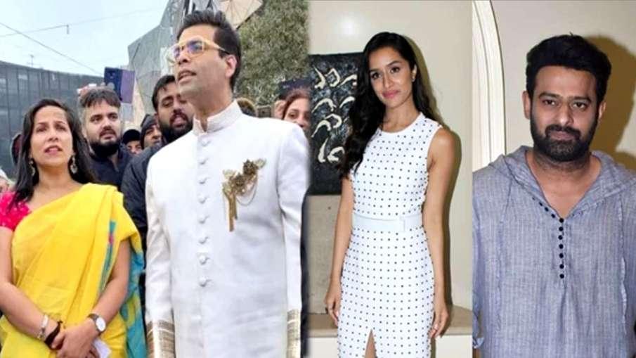 Karan Johar, Shraddha Kapoor and Prabhas- India TV Hindi