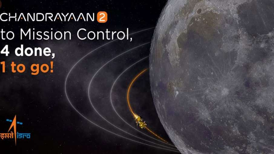 Fourth Lunar bound orbit maneuver for Chandrayaan-2 spacecraft was performed successfully on Friday - India TV Hindi