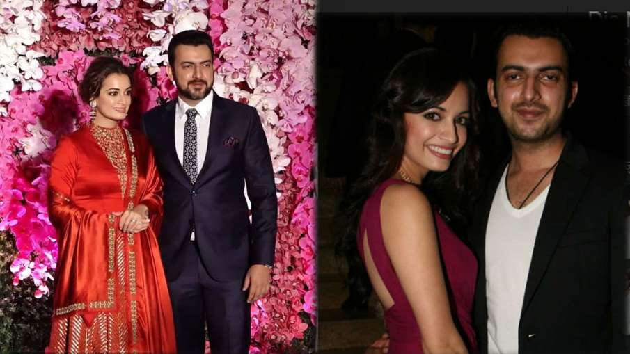 Dia Mirza And Sahil Sangha Announce Separation- India TV Hindi