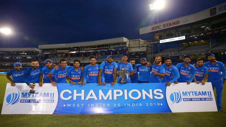 टीम इंडिया ने...- India TV Hindi