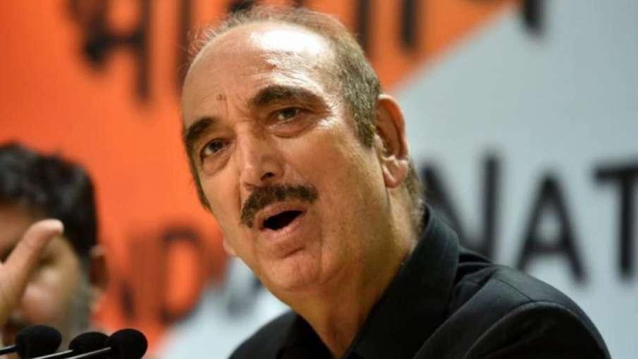 Ghulam Nabi Azad | PTI File- India TV Hindi
