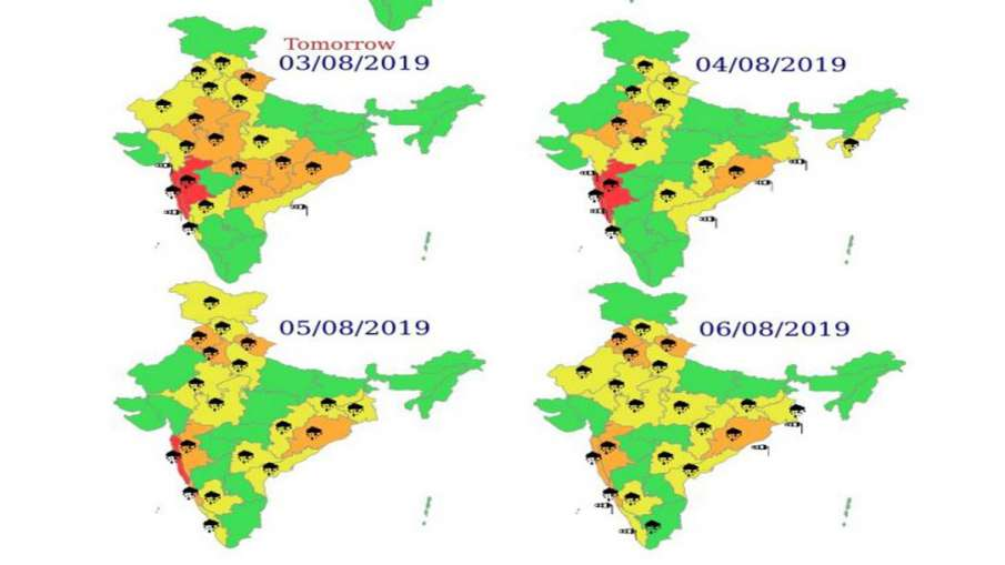Monsoon rain forecast in Delhi Punjab Haryana and Uttar Pradesh by IMD- India TV Hindi