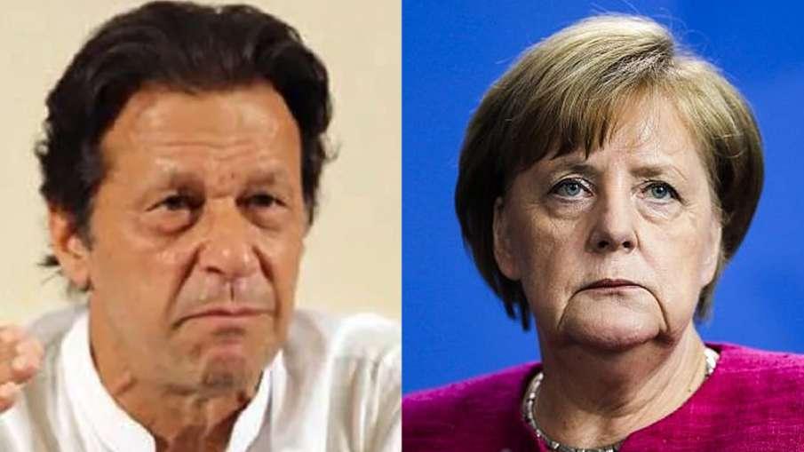 Imran Khan discusses Kashmir issue with German Chancellor Angela Merkel | AP File- India TV Hindi