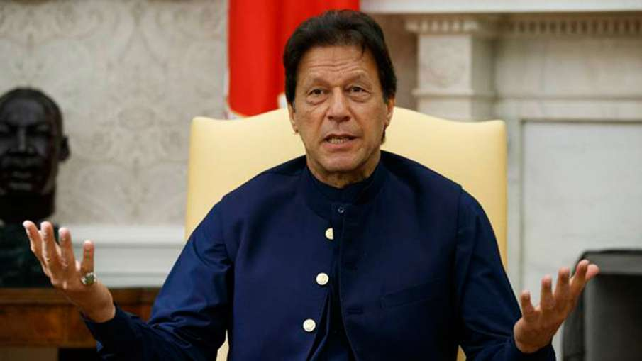 Imran Khan slams Indian govt over Kashmir issue- India TV Hindi