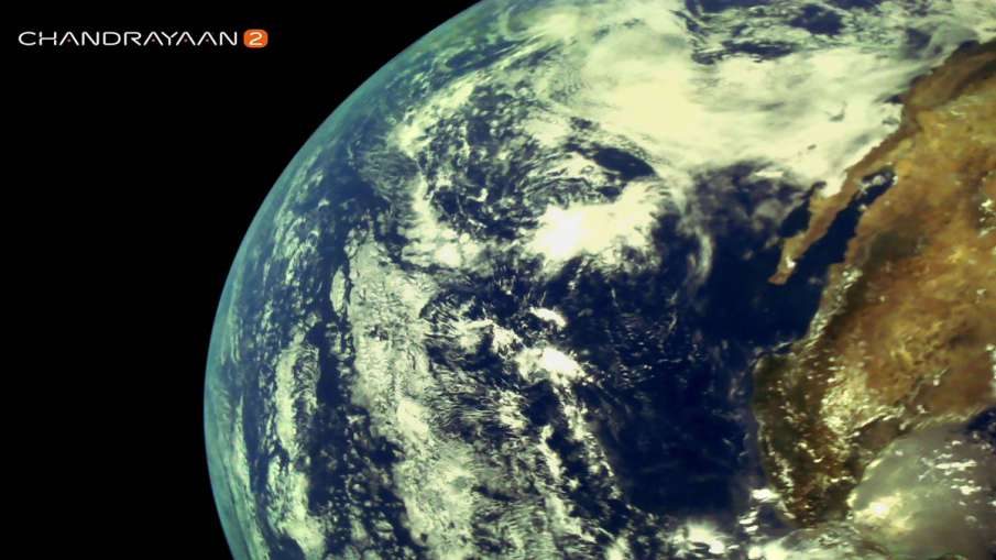 Chandrayaan 2 captures very first and beautiful images of the Earth- India TV Hindi
