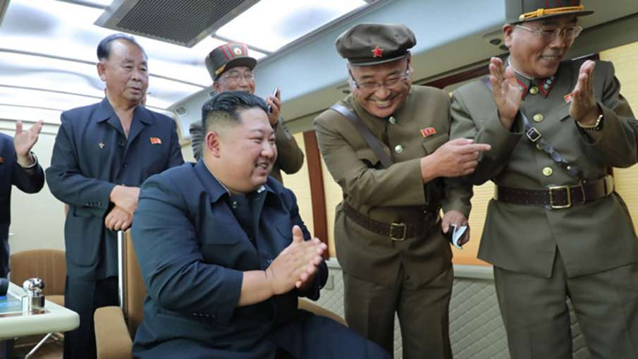 North Korea leader Kim Jong Un oversaw the test-firing of new weapon again | AP File- India TV Hindi