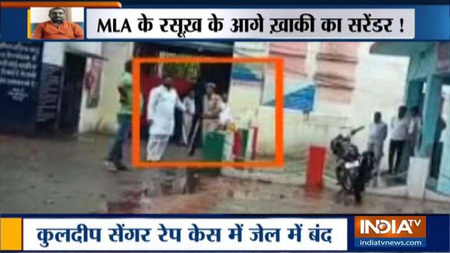 जेल में भी चलता है उन्नाव रेप कांड के आरोपी कुलदीप सिंह सेंगर का राज, वीडियो वायरल- India TV Hindi